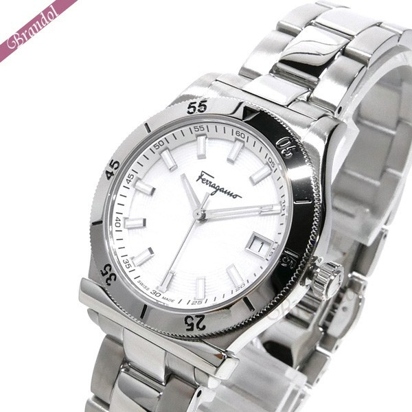 フェラガモ レディース腕時計 1898 32mm シルバー FH0020017 【ブランド】