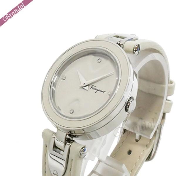《クーポンで800円OFF》フェラガモ レディース腕時計 Gilio 32mm ホワイト FIW030017