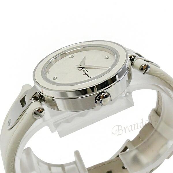 《800円offクーポン対象商品 5/26 23:59まで》フェラガモ レディース腕時計 Gilio 32mm ホワイト FIW030017
