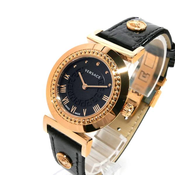 《800円offクーポン対象商品 5/26 23:59まで》ベルサーチ レディース腕時計 ヴァニティ 35mm ブラック×ゴールド P5Q80D009S009