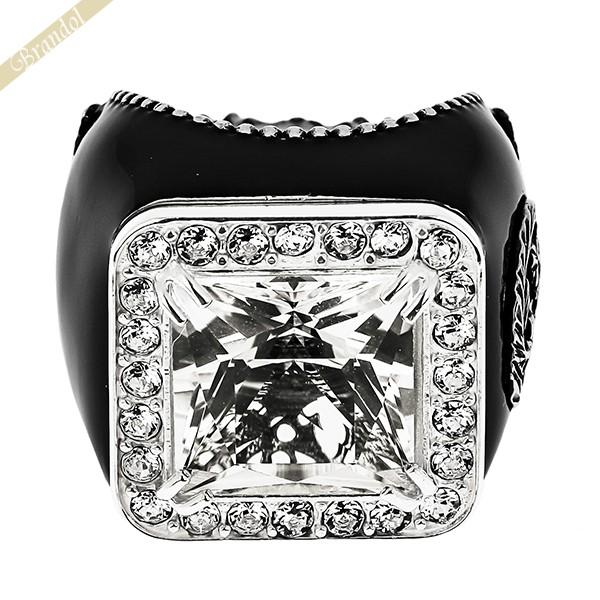 グッチ レディース 指輪 ストーン クリスタル リング 11号 シルバー 538037 J8777 8176 11 | ブランド 母の日 普段使い