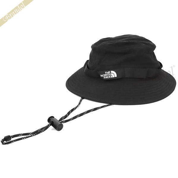 送料無料 THE NORTH FACE 帽子 ロゴ ハット あご紐付き ザ ノースフェイス メンズ レディース ブランド CLASS M NF0A3VWA S 黒 JK3 日本メーカー新品 バケットハット V ブラック お気にいる Mサイズ BRIMMER