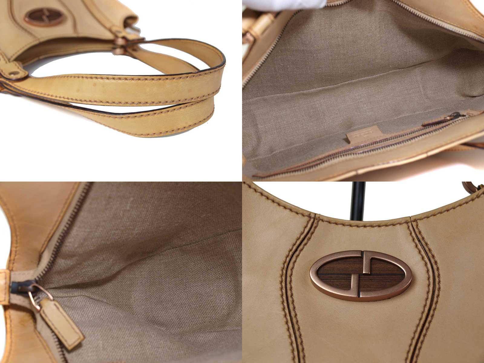 5d9fb6af5 Brandoll: -GUCCI Gucci leather shoulder bag | Rakuten Global Market