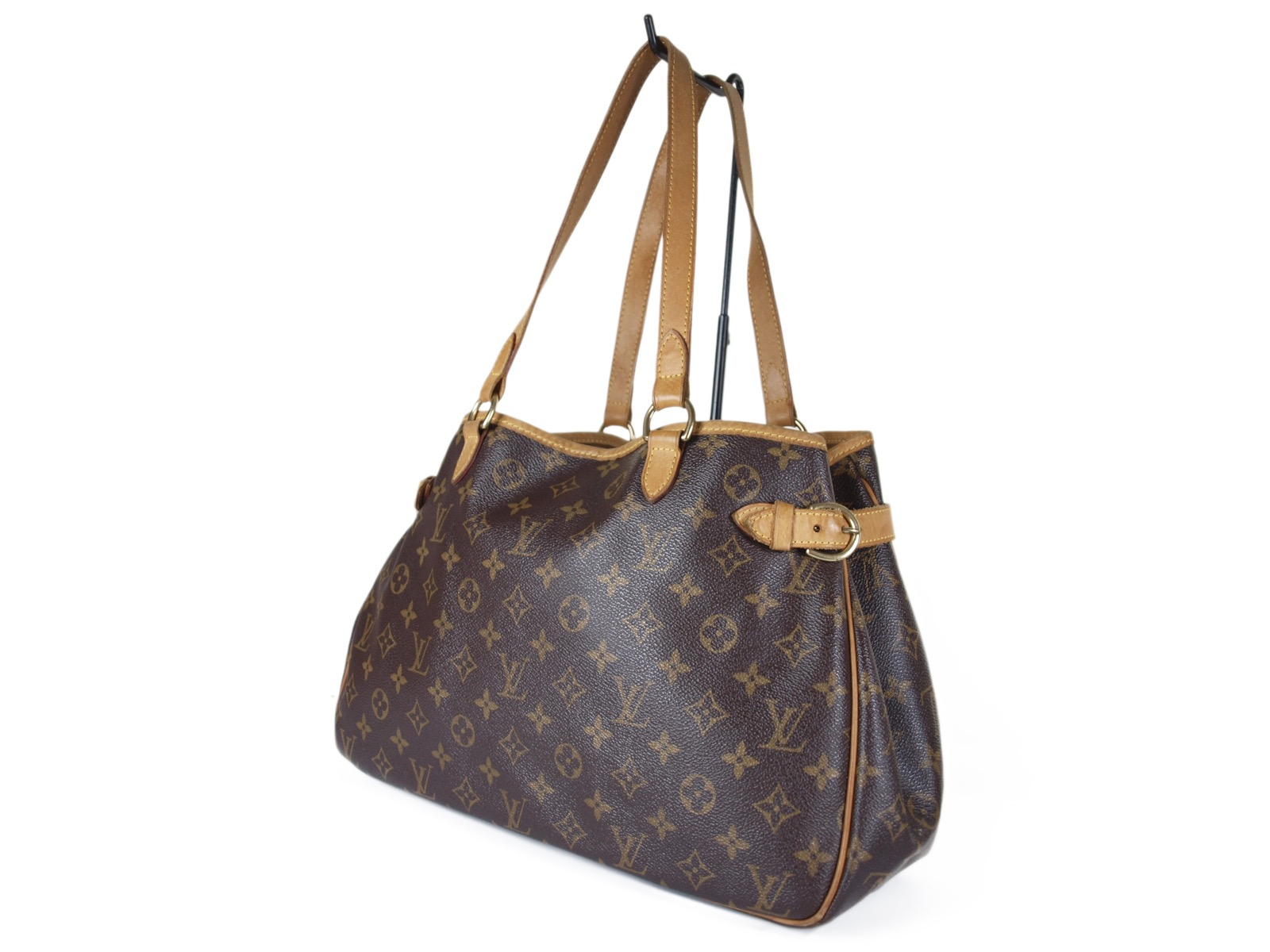 -Louis Vuitton- 贈物 ルイヴィトン Batignolles Horizontal Monogram バティニョール モノグラム オリゾンタル ショルダーバッグ 中古 返品不可