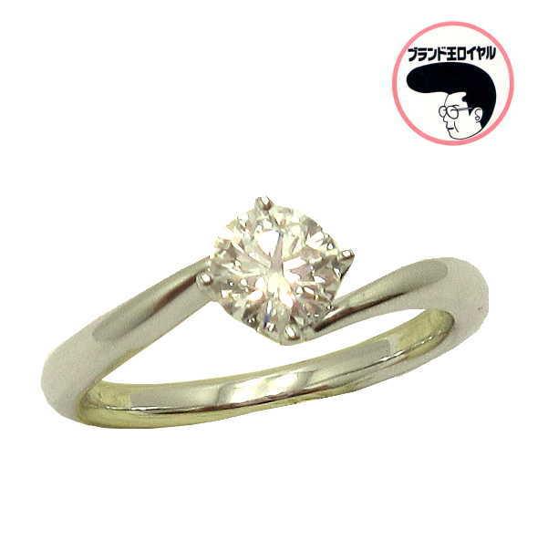PT 0.521ct Dカラー・IFクラス・ EXカット ダイヤモンドリング 婚約指輪に 鑑定書付き