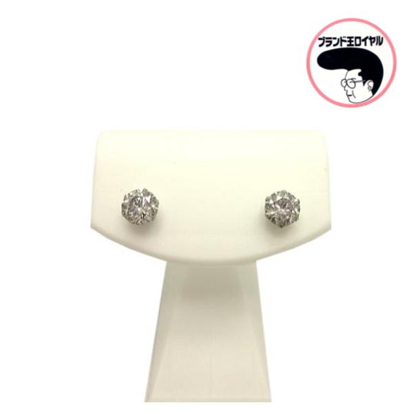 店舗 人気の一粒ピアス プレゼントに 70%OFFアウトレット ギフトラッピング無料 Pt900 ダイヤピアス 1粒ダイヤ 1粒 ピアス プラチナ900 0.5×2