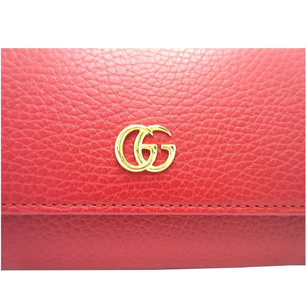 competitive price 4e6fa a03bd GUCCI古馳長錢包對開長錢包puchimamontoreza紅紅未使用的物品