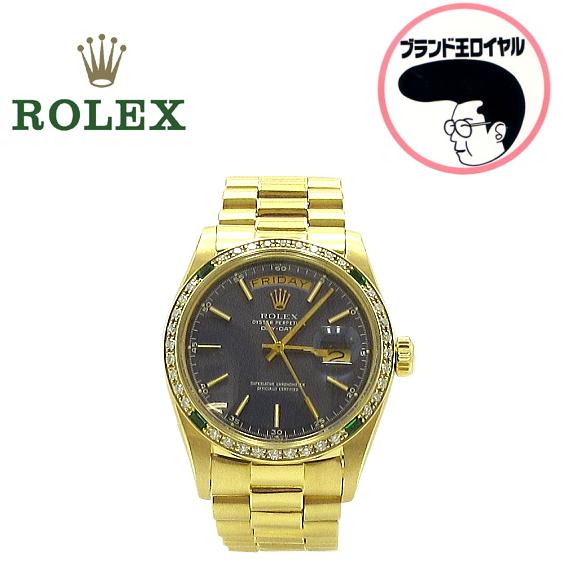 ROLEX ロレックス 1803  デイデイト 金無垢 メンズ OH済 フェイス磨き済み【中古】