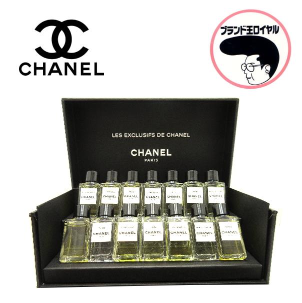 人気の香水が14本 贅沢なセット LES EXCLUSIFS 有名な DE CHANEL 中古 未使用品 ミニボトル 訳あり 香水セット 4ml×14本 ミニ 14本 シャネル PARFUM