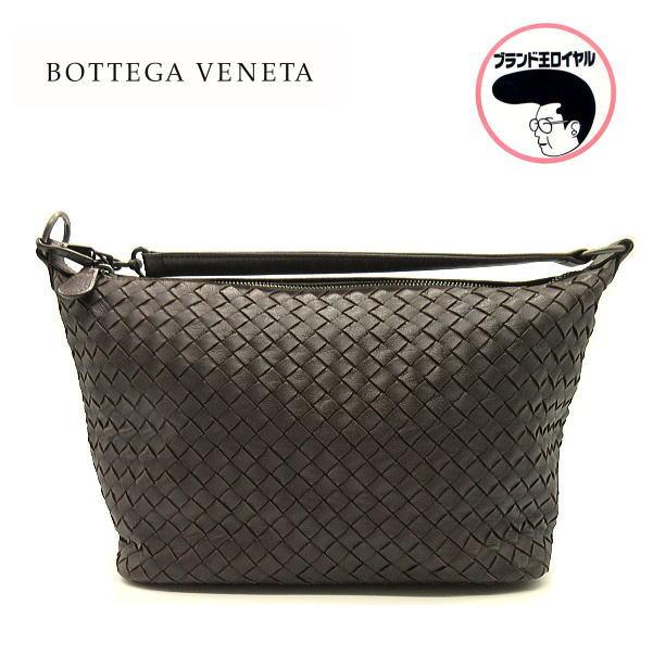 40%OFFの激安セール 上品なデザインが素敵 中古 BOTTEGA VENETA ボッテガベネタ ワンショルダー トートバッグ ブラウン 期間限定で特別価格