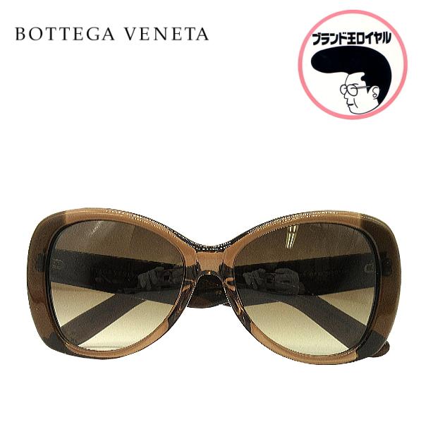 クールで格好良いボッテガのサングラスです 中古 美品 高価値 BOTTEGA VENETA ボッテガベネタ アイウエア ブラック×ブラウン サングラス 紫外線予防に 春の新作