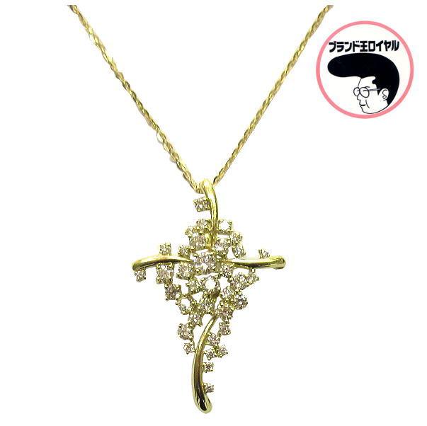 ※アウトレット品 人気のイエローゴールド ネックレス K18YG 1.06ct お得なキャンペーンを実施中 イエローゴールド ダイヤネックレス