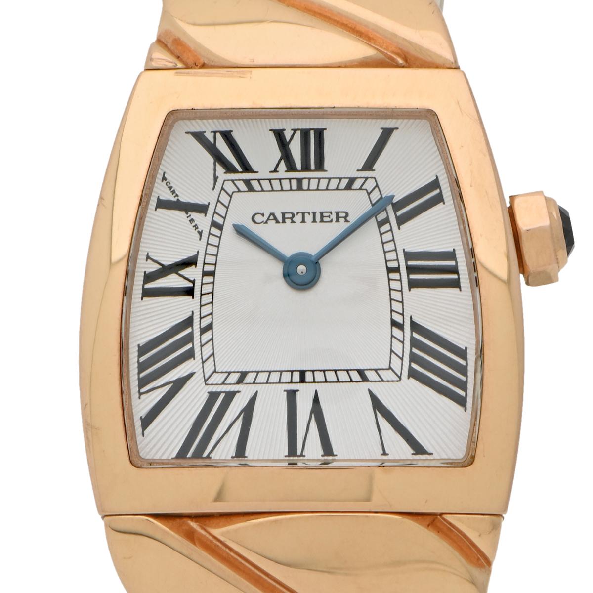 カルティエ CARTIER ラドーニャ SM W6400301 腕時計 PG クオーツ シルバー レディース 【中古】