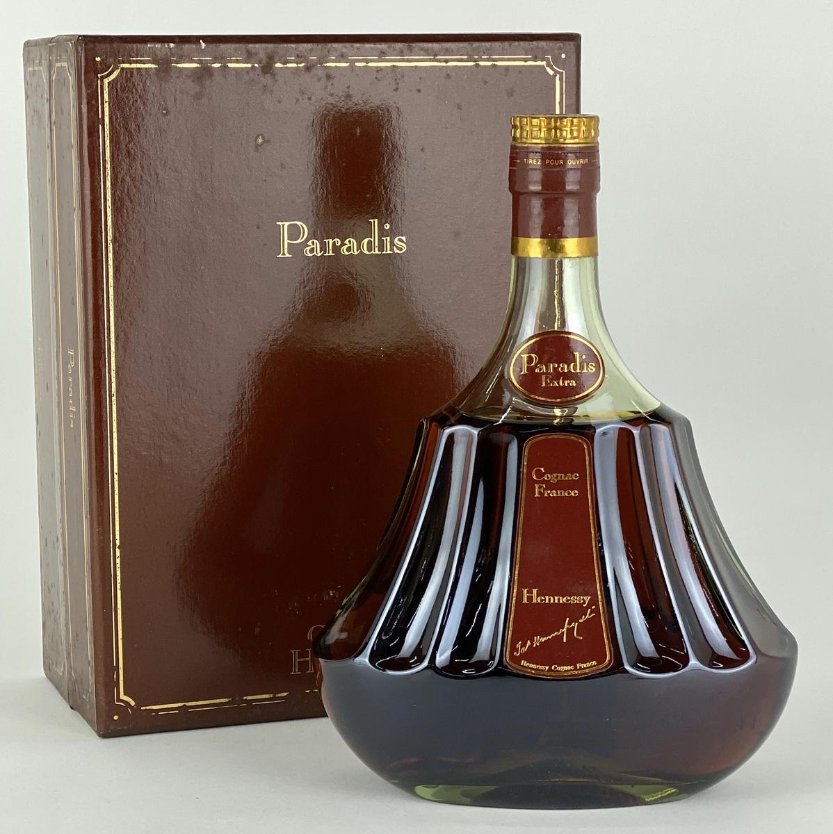 ヘネシー Hennessy パラディ エクストラ 旧グリーンボトル 700ml ブランデー コニャック 【古酒】