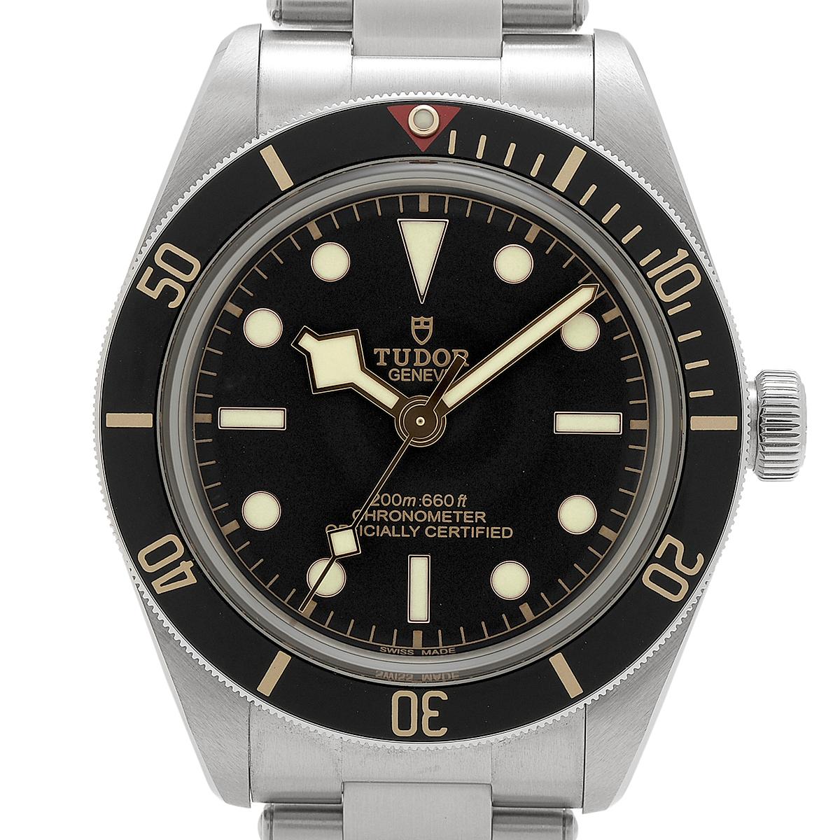 チュードル TUDOR ブラックベイ フィフティエイト 79030N 腕時計 SS 自動巻き ブラック メンズ 【中古】