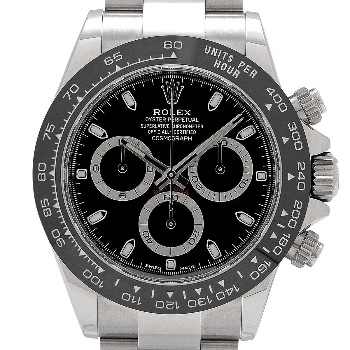 ロレックス ROLEX デイトナ 116500LN 腕時計 SS セラミック 自動巻き ブラック メンズ 【中古】