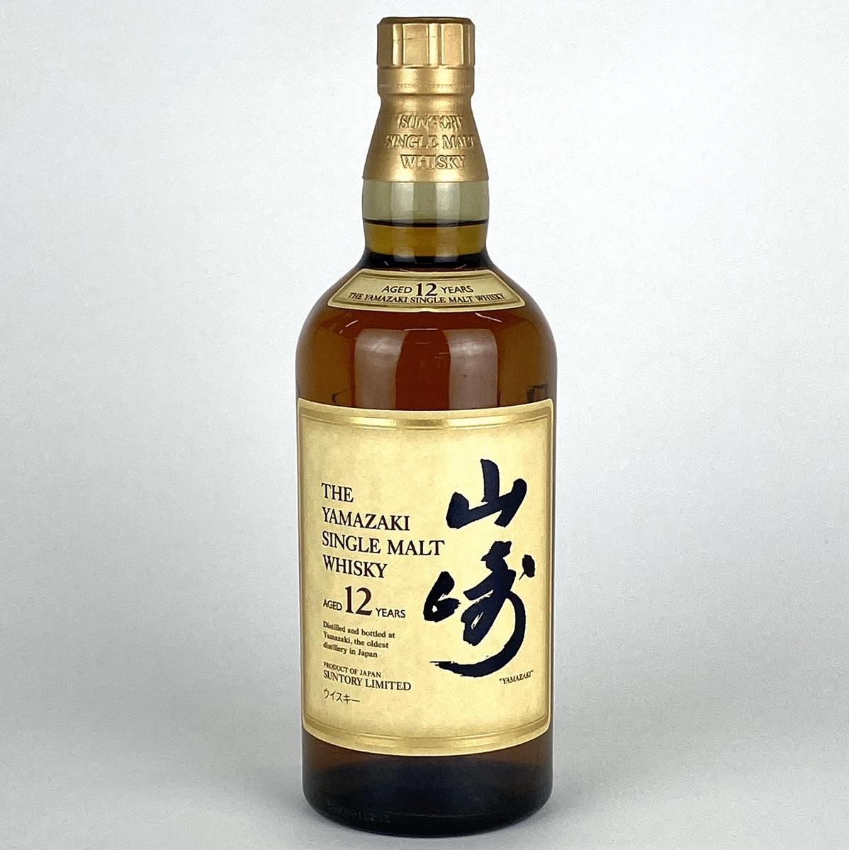 【東京都内限定】サントリー SUNTORY 山 12年 ピュアモルト 700ml 国産ウイスキー 【古酒】