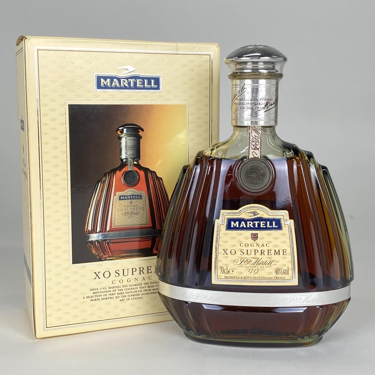 マーテル MARTELL XO スプリーム グリーンボトル 700ml ブランデー コニャック 【古酒】