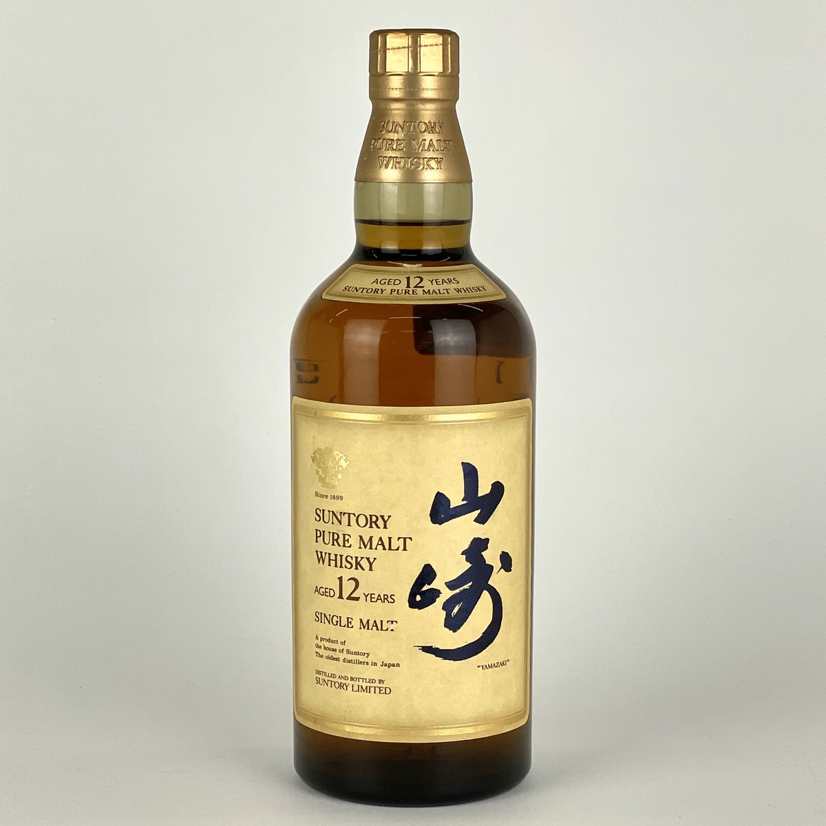 【東京都内限定】サントリー SUNTORY 山崎 12年 ピュアモルト 750ml 国産ウイスキー 【古酒】
