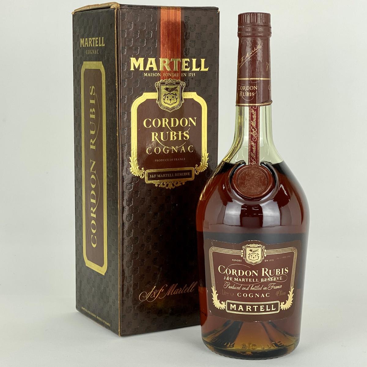マーテル MARTELL コルドンルビー 1000ml ブランデー コニャック 【古酒】