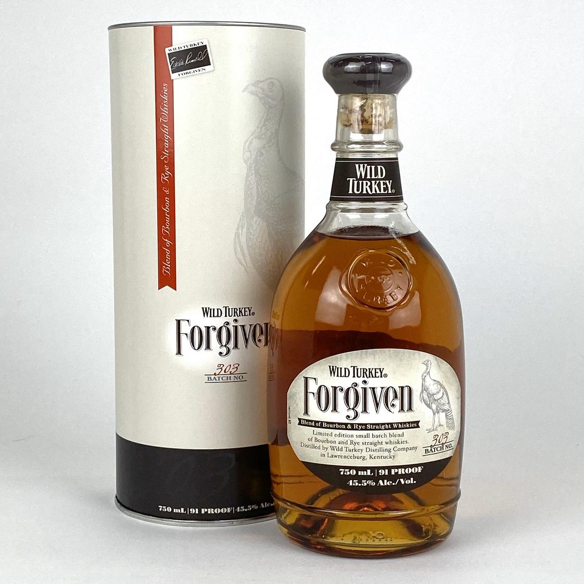 ワイルドターキー WILD TURKEY フォーギブン 750ml アメリカンウイスキー 【古酒】