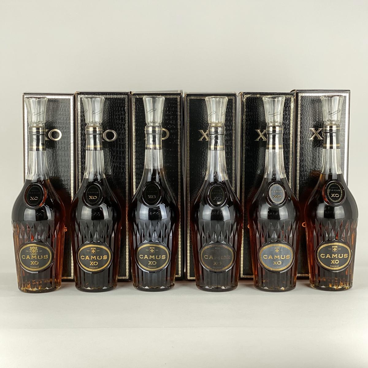 カミュ CAMU XO ロングネック 6本セット 700ml ブランデー セット 【古酒】