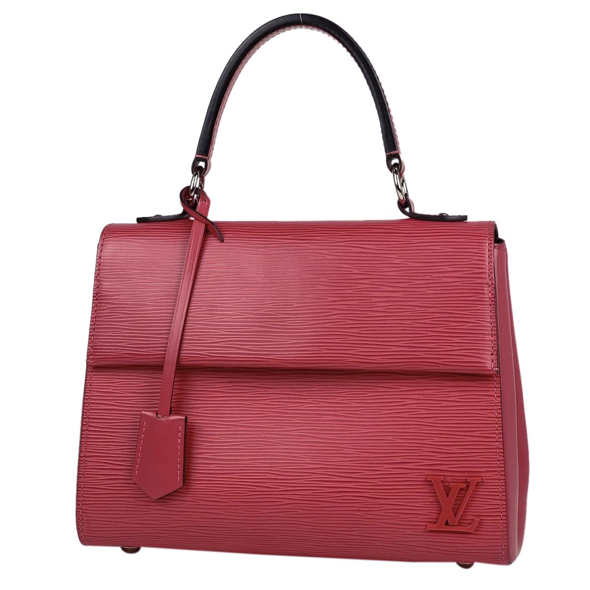 ルイ・ヴィトン Louis Vuitton クリュニー BB ショルダーバッグ 2WAY M42051 ハンドバッグ エピ ピンク レディース 【中古】