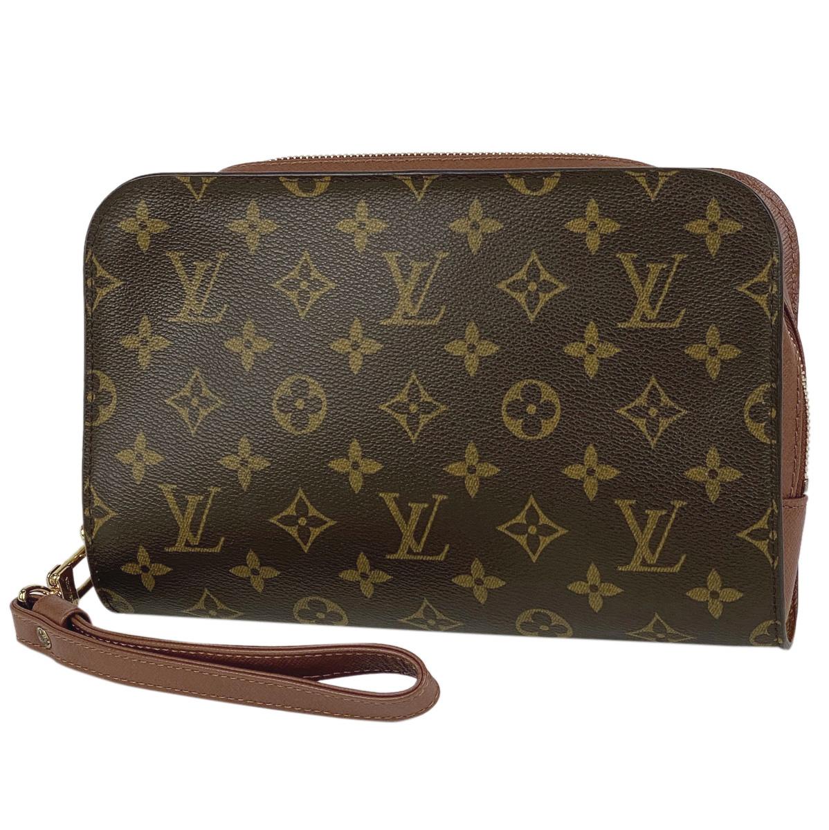 ルイ・ヴィトン Louis Vuitton オルセー クラッチバッグ 紳士 ビジネス セカンドバッグ モノグラム ブラウン M51790 メンズ 【中古】