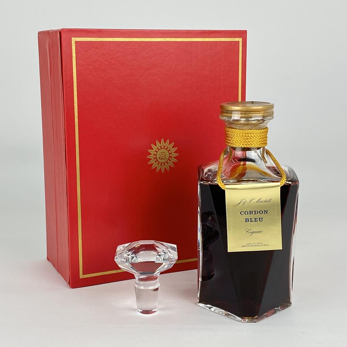 マーテル MARTELL コルドンブルー バカラ 700ml ブランデー コニャック 【古酒】