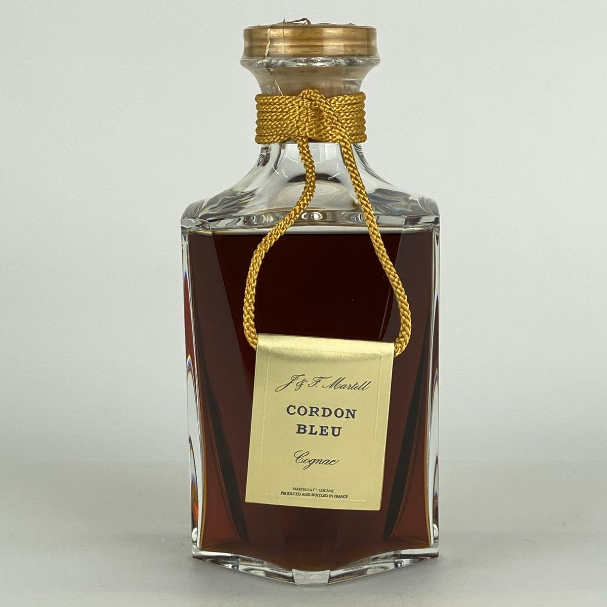 マーテル MARTELL コルドンブルー バカラクリスタル 700ml ブランデー コニャック 【古酒】