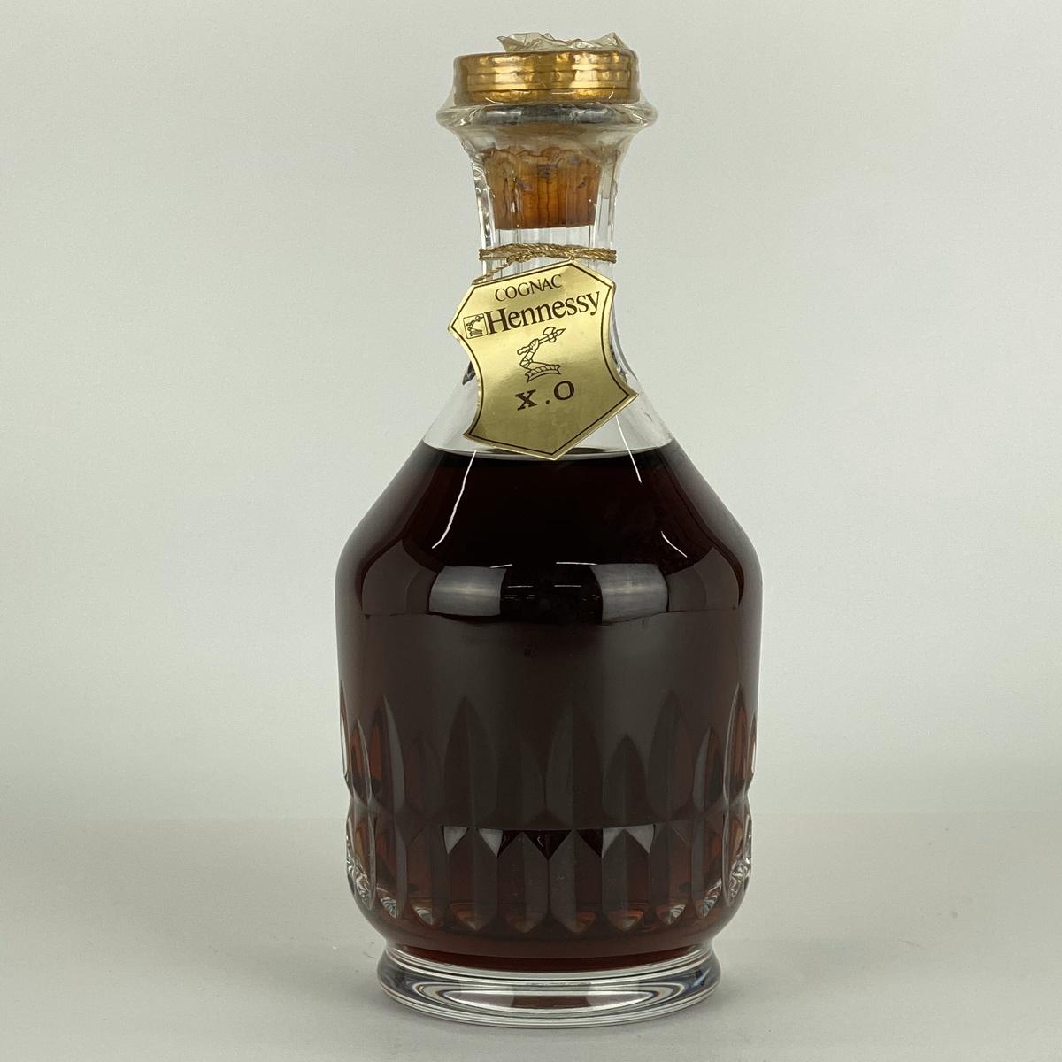 ヘネシー Hennessy XO クリスタルバカラ デキャンタ 700ml ブランデー コニャック 【古酒】