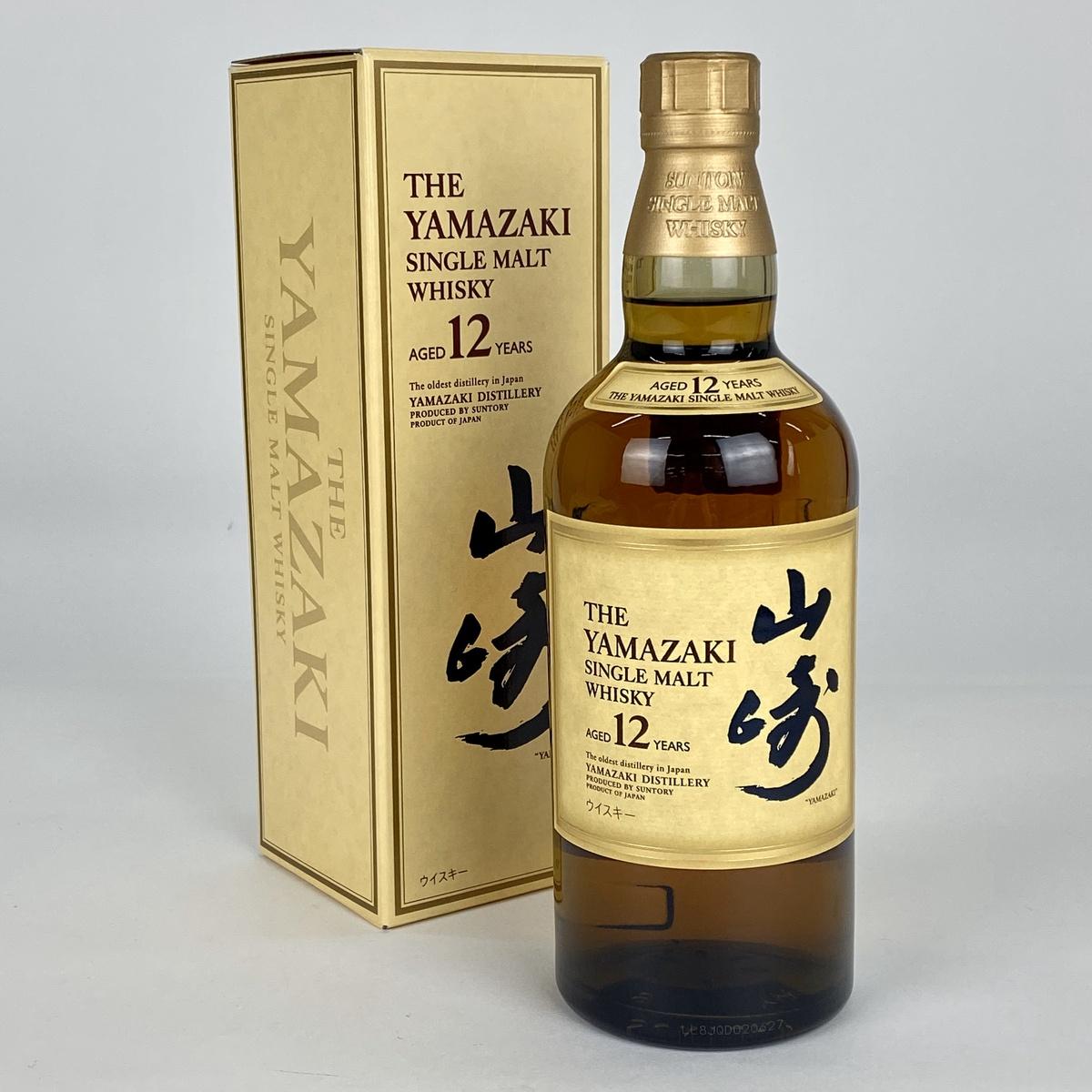 【東京都内限定】サントリー SUNTORY 山崎 12年 シングルモルト 700ml 国産ウイスキー 【古酒】