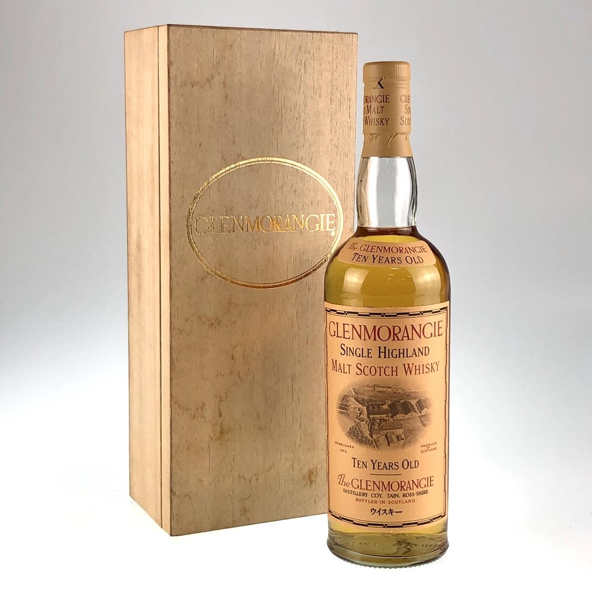 グレンモーレンジ the glenmorangie 10年 シングルハイランドモルト 750ml スコッチウイスキー シングルモルト 【古酒】:バイセルオンライン 店