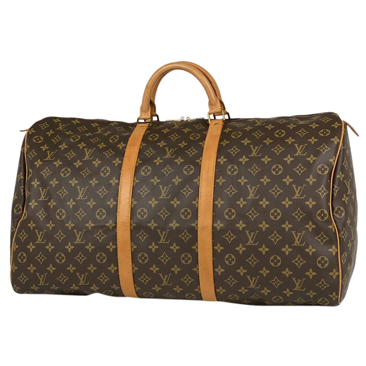 最新作の ルイ・ヴィトン Louis Vuitton キーポル 60 ハンドバッグ マザーバッグ 旅行 出張 ビジネス ジム 3泊4日 ノートPC 大容量 ボストンバッグ モノグラム ブラウン M41422 レディース 【】, 英田郡 47c04731