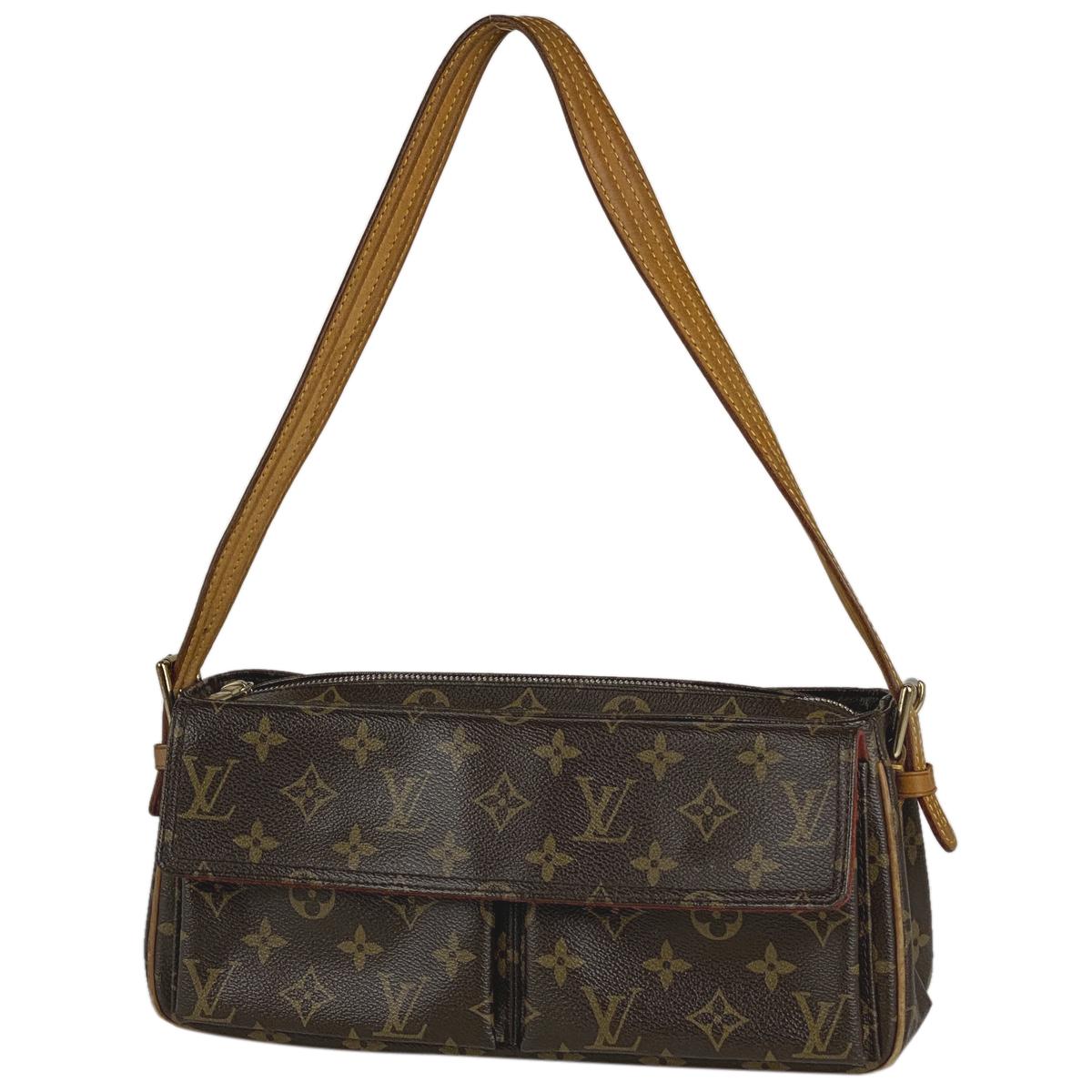 新しいコレクション ルイ・ヴィトン Louis Vuitton ヴィバ モノグラム MM シテ MM ワンショルダー ヴィバ 肩掛け ショルダーバッグ モノグラム ブラウン M51164 レディース【】, 靴通販のシューズショップASBee:a7c89e42 --- santrasozluk.com