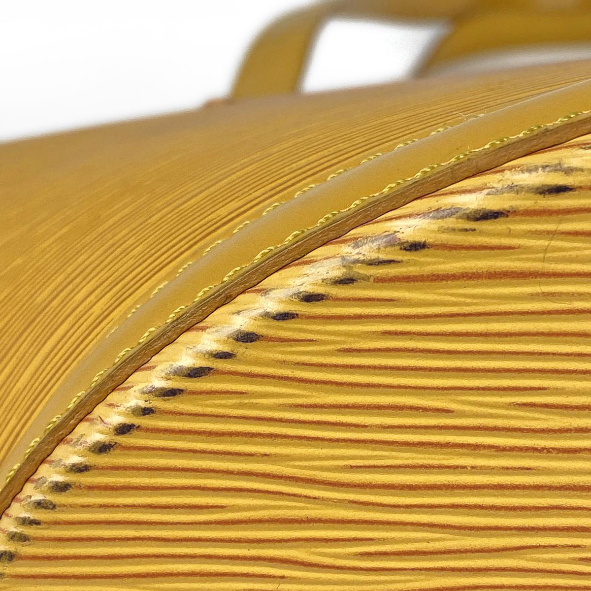 ルイ?ヴィトン Louis Vuitton サンジャック ショッピング トートバッグ 肩掛け ショルダーバッグ エピ タッシリイエロー M52269 レディース 【中古】