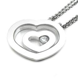 【Chopard】ショパール ペンダントネックレス ハッピーダイヤモンド 79/5648-20 ホワイトゴールド