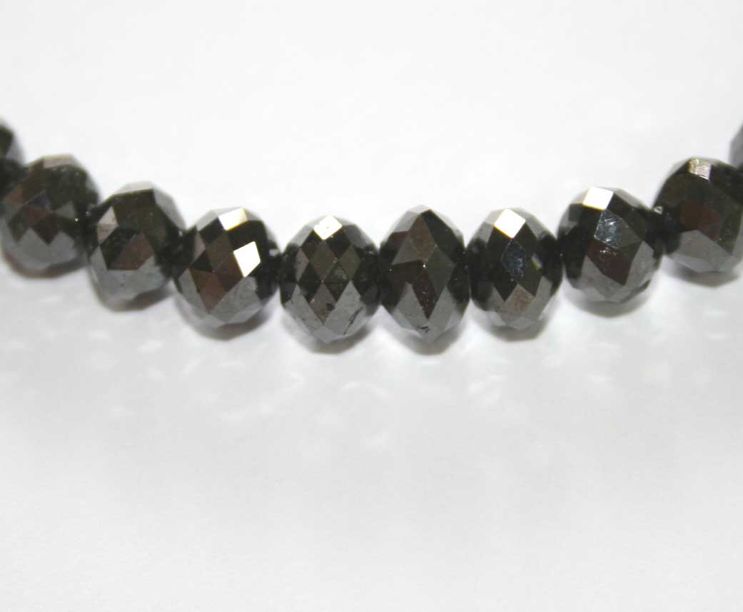 ブラックダイヤ ネックレス 150ct