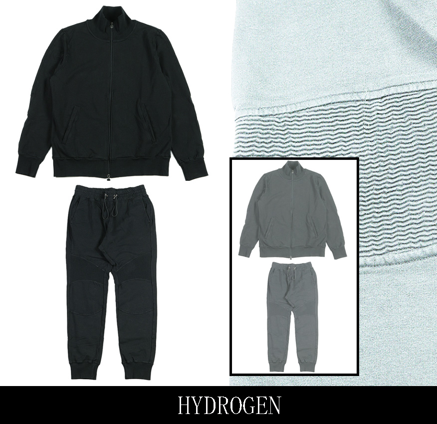【HYDROGEN】ハイドロゲン パイカ―スェット セットアップ 全2色