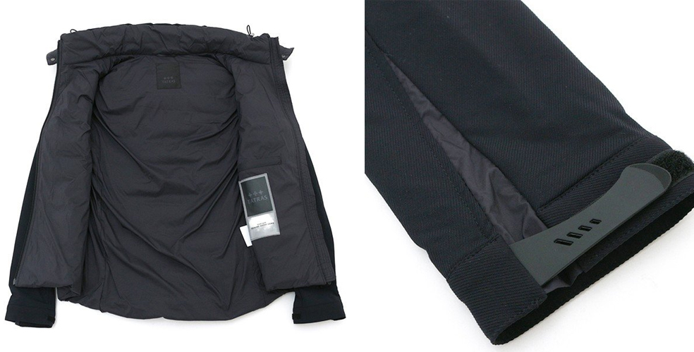 【TATRAS】タトラス メンズ ダウンジャケット  BLEGGIO ブラック MTA19A4570