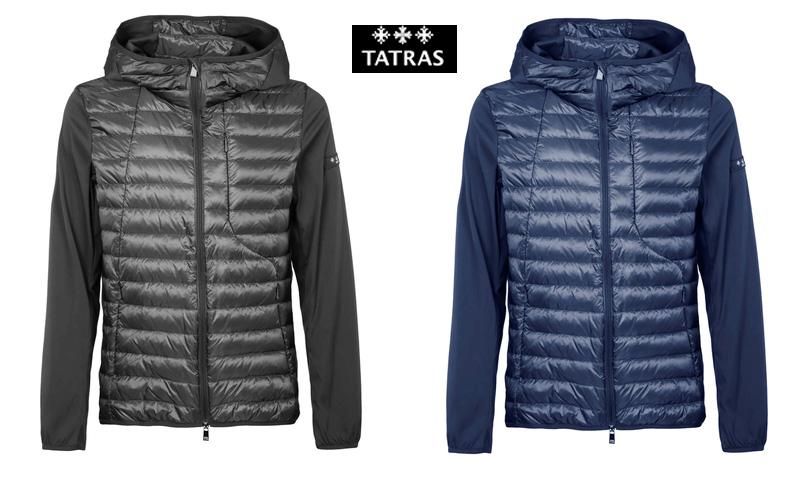 TATRAS タトラス メンズ ライトダウンジャケット  CEFALU チェフェル 全2色 ブラック ネイビー  MTK19S4167
