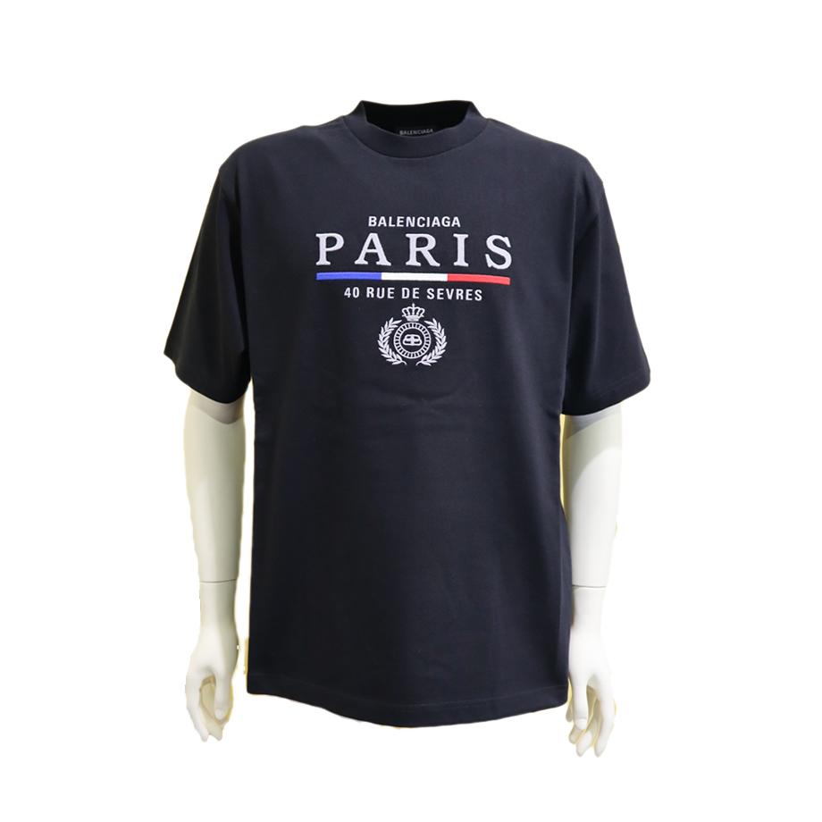 バレンシアガ BALENCIAGA メンズ 半袖Tシャツ カットソー 594579 TGV48 1000