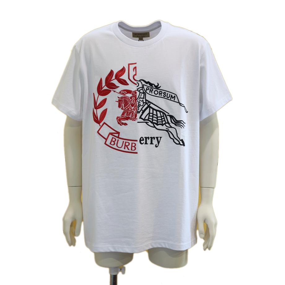 BURBERRY burberry バーバリー メンズ Tシャツ 刺繍エンブレム 8004968