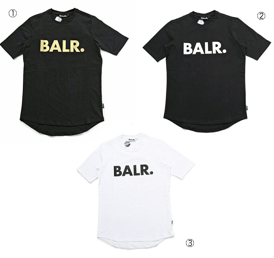 BALR. ボーラー 半袖Tシャツ ロゴプリント BRAND T 全4色