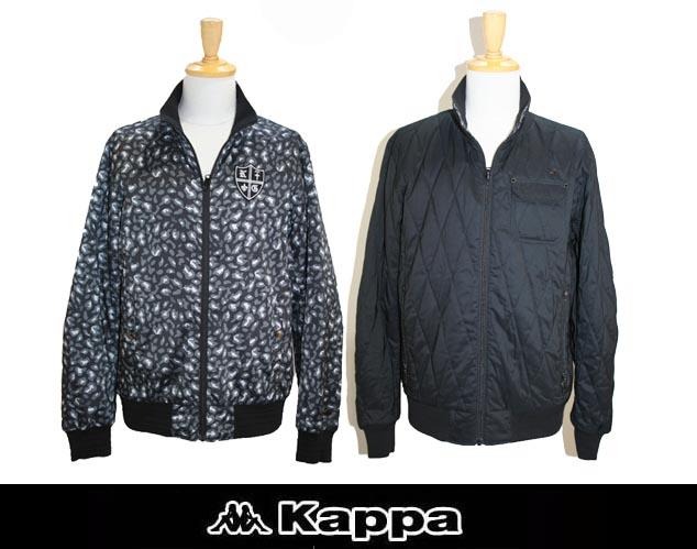【KAPPA】カッパ 2014-15秋冬新作モデル リバーシブル 中綿ブルゾン KG452OT26