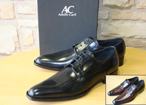 【ADOLFO CARLI】アドルフォカーリー メンズ ビジネスシューズ  ドレスシューズ 革靴 黒/ブラウン