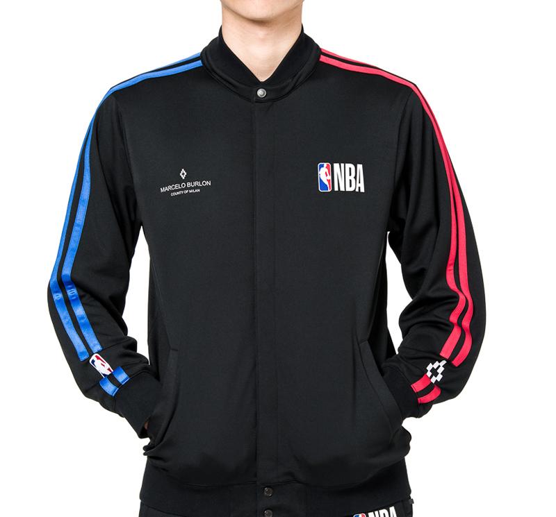 marcelo burlon マルセロブロン NBA代表チームジャケット ウール素材 スタジアムジャンパー CMBD004F189221331088