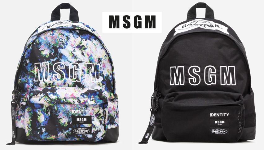 MSGM エムエスジーエム バックパック リュック 全2色