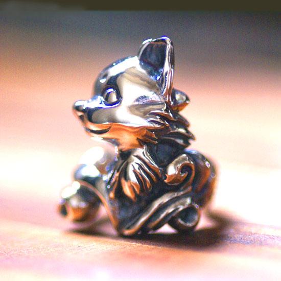 チワワの肖像リング 【送料無料】チワワ 犬 わんこ 指輪 リング dr-02
