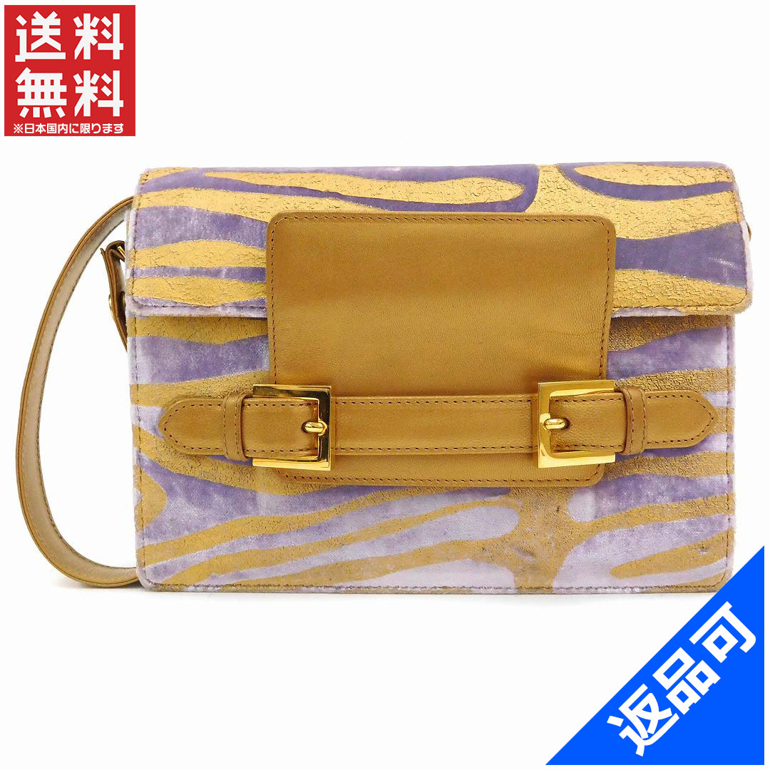 03cbaa26ce (Vintage) (Correspondence) Fendi /FENDI / shoulder bag / shoulder / animal  ...